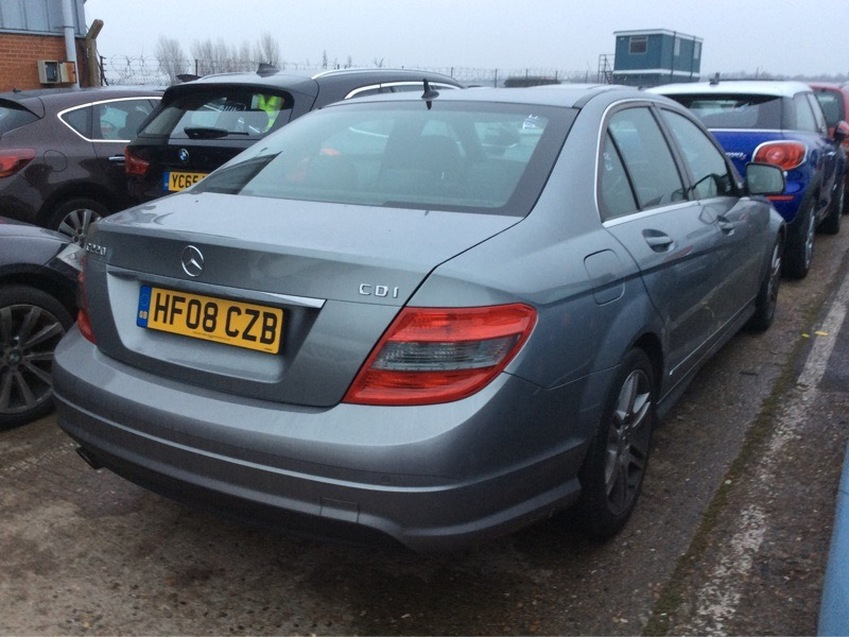 View MERCEDES C CLASS C220 CDI AMG Sport