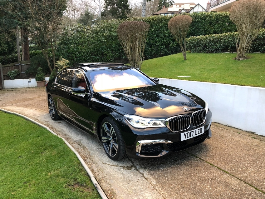 View BMW 7 SERIES 740L d XDrive M Sport