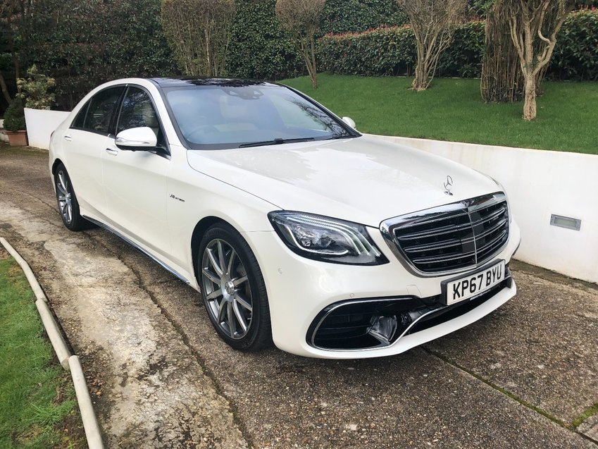 View MERCEDES AMG AMG S63 L Executive