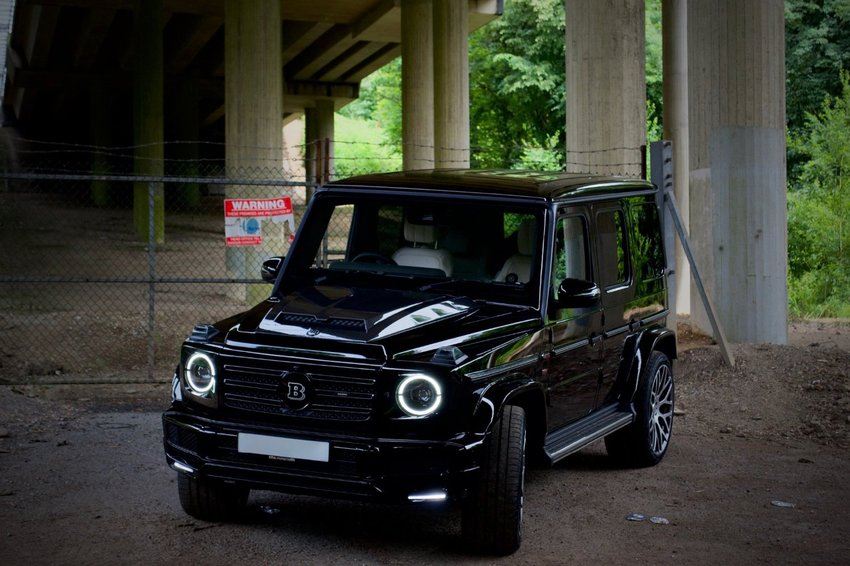 View MERCEDES G CLASS 350 d AMG Line Brabus Conversion
