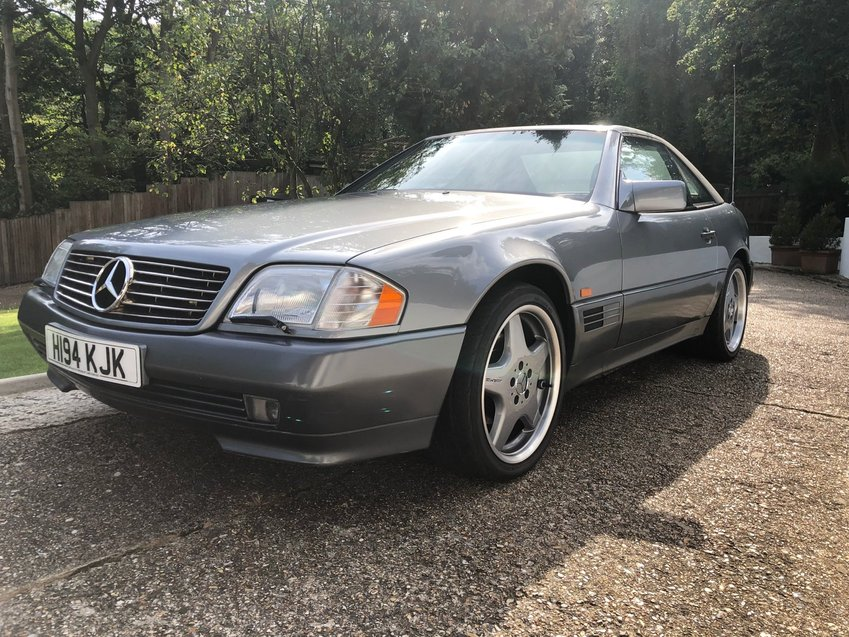 View MERCEDES SL 500