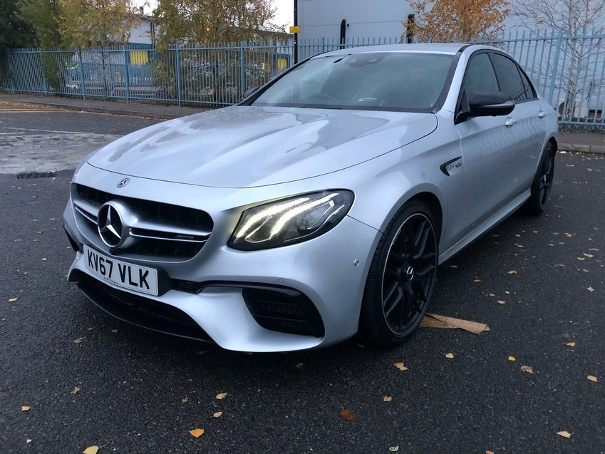 View MERCEDES AMG E63 AMG 4Matic+ 9G-Tronic