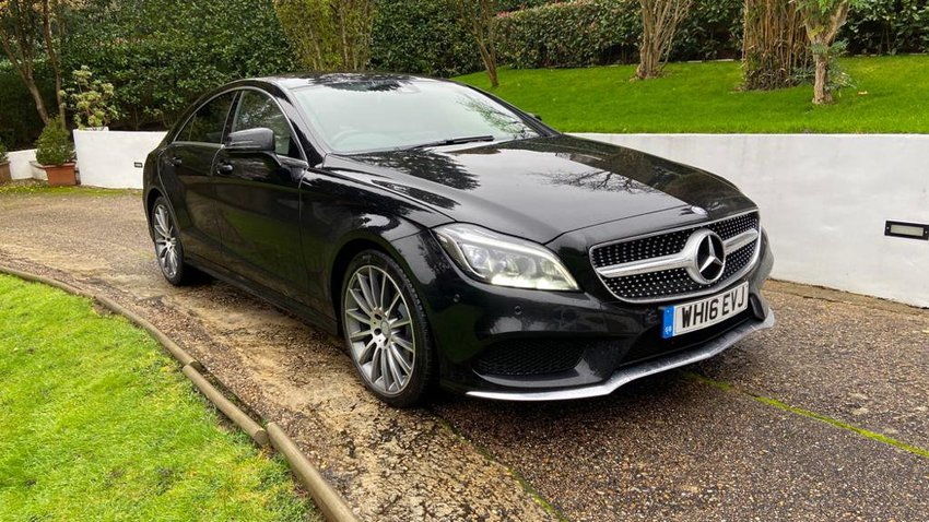 View MERCEDES CLS 220d Coupe AMG Line