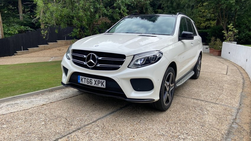 View MERCEDES GLE CLASS 250 AMG Line Premium Plus Night Ed