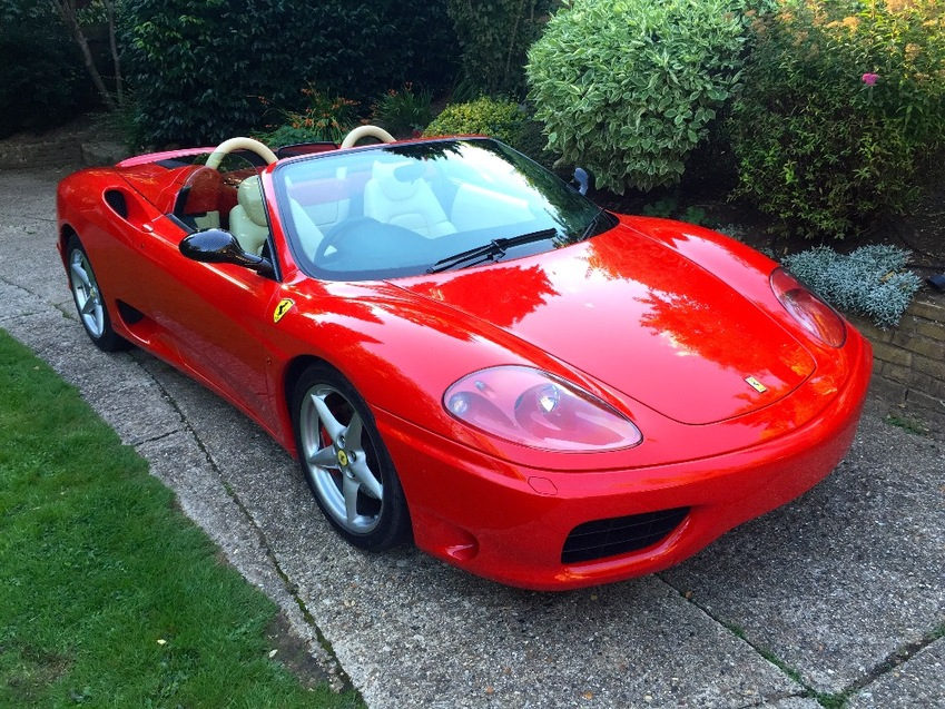 View FERRARI 360 Spider